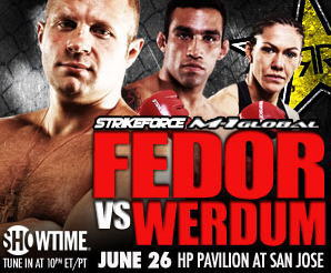 『Strikeforce / M-1 Global – Fedor vs. Werdum』リアルタイム速報