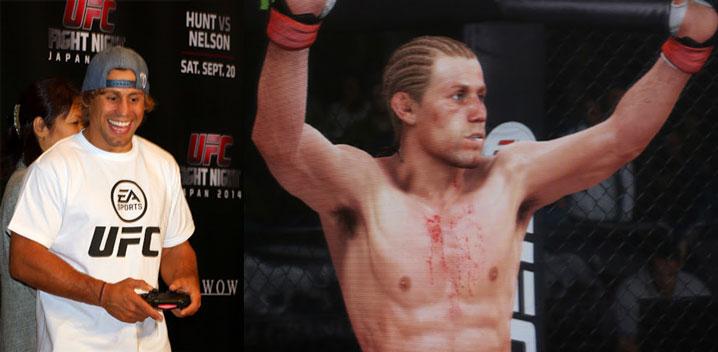 『EA SPORTS UFC』11月20日発売~ユライア・フェイバーと水垣偉弥がゲーム対決