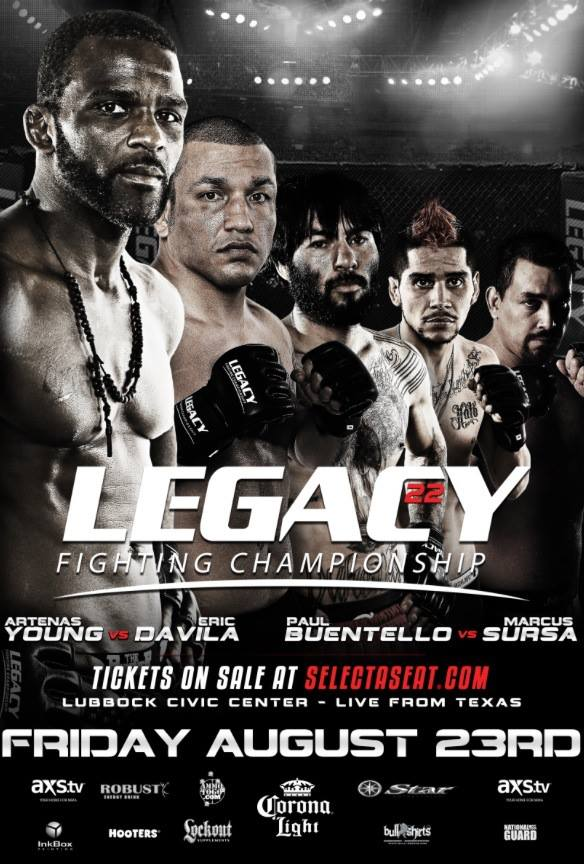 "8・23『LFC 22 - Legacy Fighting Championship 22』""ヘッドハンター""P ..."