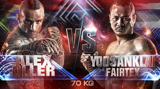 Yodsanklai Fairtex – Thai VS Alex Oller – Brazil
