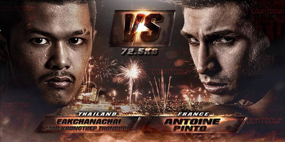 THAI FIGHT COUNT DOWN 2015