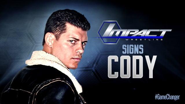 コーディ・ローデスと契約!TNA...