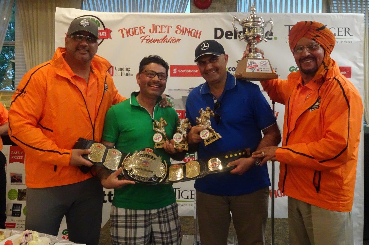 タイガー・ジェット・シン基金ゴルフ・トーナメント、本年は$80,000計上!
