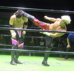 ノア・グローバルリーグ2017 優勝決定戦に潮崎、拳王が進出