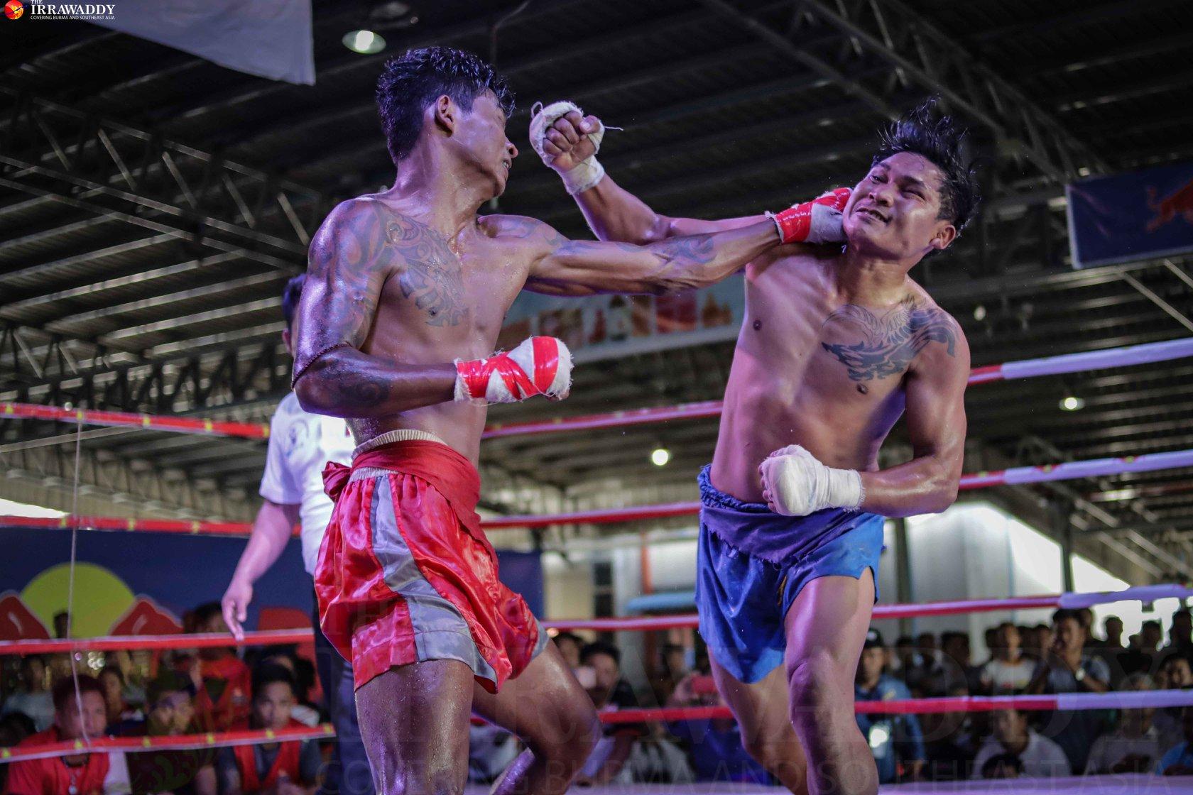 シュー・ヤー・マンがメインでKO勝ち!ゴールデンベルトトーナメント追加階級75㎏と48㎏で王者誕生!緬泰3対3対抗戦はミャンマー側の2勝1分!『LETHWEI NATION CHAMPIONSHIP』