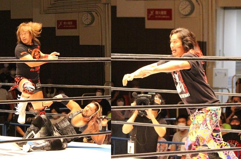バレットクラブの無法行為に怒りの欠場中の高橋ヒロムが乱入 「オイッ、石森。あさっての大阪大会からまた遊ぼうぜ!!」回復&復帰を宣言